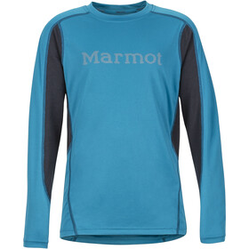 Marmot Windridge T-shirt à manches longues Garçon, turkish tile/dark steel
